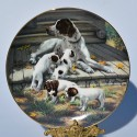 Porcelánový tanier German Pointers, Hamilton Collection 21,5 cm + certifikát