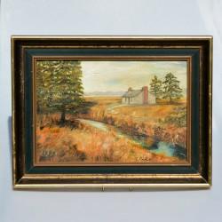Obraz originál Vieux Mareuil, Monique Partridge 41x32 cm