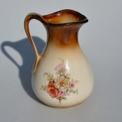 predane Keramický džbán Ruže 19x11 cm + uško, krakelácia - iba dekor