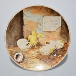 Porcelánový tanier The Flood Meadows + certifikát WEDGWOOD 21,5 cm + origin.balenie
