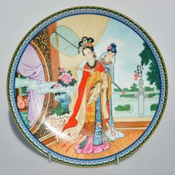 predane Porcelánový tanier Vtáky Imperial Jingdezhen 22 cm