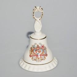 rezervovane fb x Keramická šperkovnička Diana and Charles, Szeiler, 9,5x6 cm