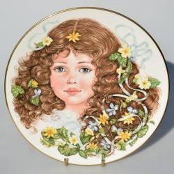 predane x Porcelánový tanier The Wordsworth´s Plate, Royal Worcester, 21 cm + certifikát + pôv.obal
