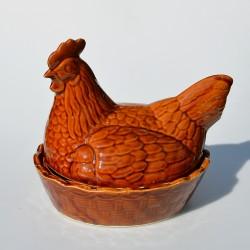 predane Sliepka - pekáč na pečenie hydiny, okrasná dóza