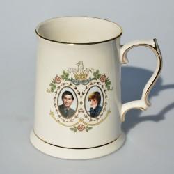 predane  fb Porcelánový hrnček The Marriage of Charles and Diana, objem 300 ml