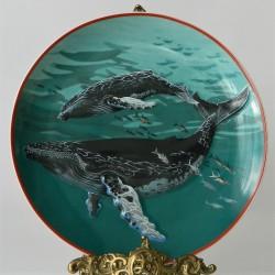 Porcelánový tanier 3D 6