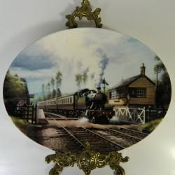 Porcelánový tanier vlak 7