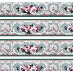 1:12 Bordúra na tapety do domčeka Zajace+ húska - 1 kus A4