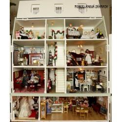 Už čoskoro - Veľký zberateľský domček pre bábiky + cukráreň a galantéria