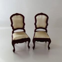 1:12 SADA stolička a rohová stolička do domčeka pre bábiky